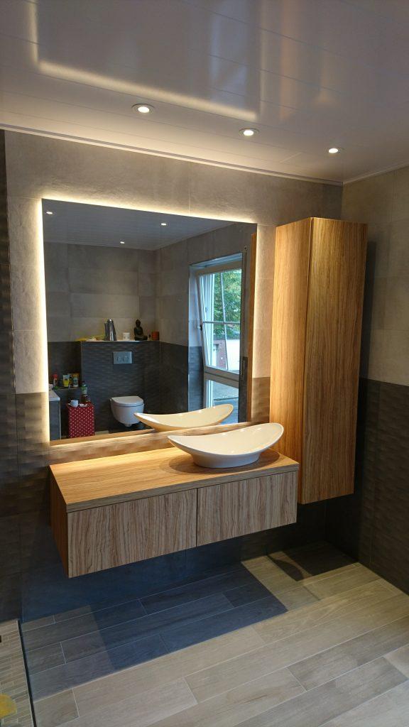 Badezimmer Neugestaltung - Wohnideen aus Holz
